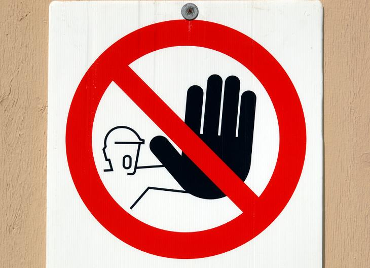 zakaz wstepu