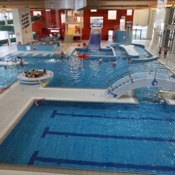 Widok basenu rekreacyjnego